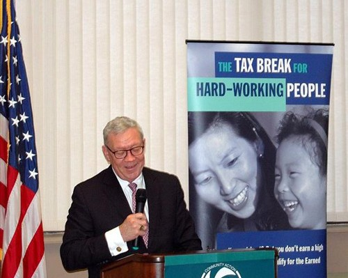 Worcester's Earned Income Tax Credit (EITC) Awareness Day Kick-off 2012