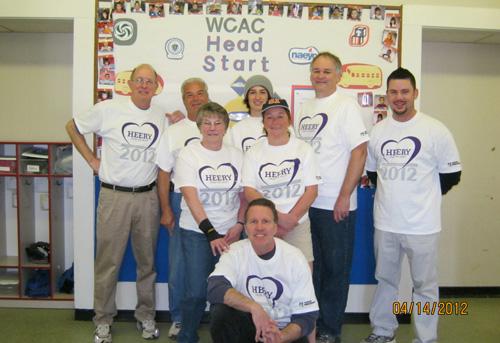 Thank you to the amazing Heery International Volunteers