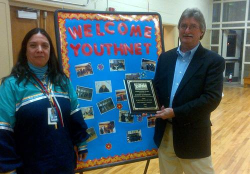 YouthNet Administration Award