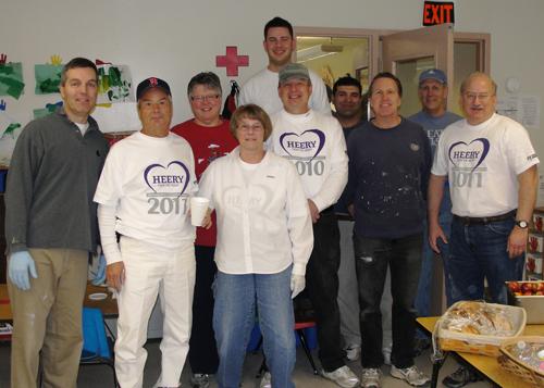 Heery International Volunteers - 2011